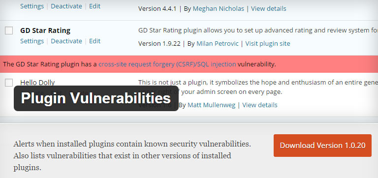 plugin-vulnerabilities-plugin